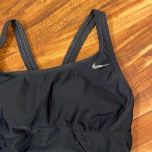 One piece Nike swimsuit. 🏊♂️